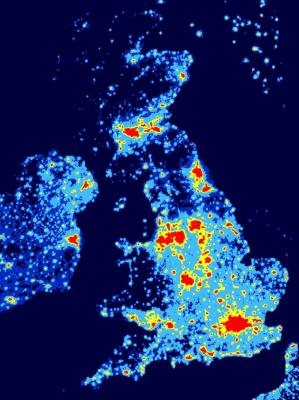 Intervention Needed To Bring Communications Services To Rural - Population density of ireland map